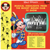 DQ-1227 Musical Highlights From The Mickey Mouse Club TV Show